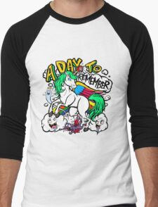 Hero Unicorn Men's Baseball ¾ T-Shirt
