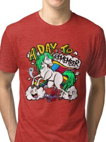 Hero Unicorn Tri-blend T-Shirt