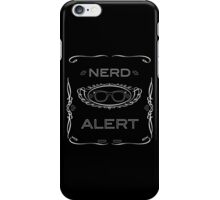 Nerd Alert! iPhone Case/Skin
