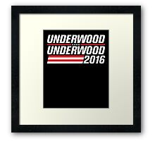 Underwood | Underwood 2016 Framed Print