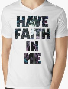 Have Faith In Me Mens V-Neck T-Shirt