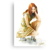 Karen Gillan Metal Print