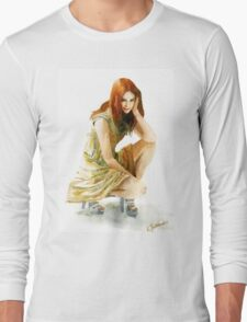 Karen Gillan Long Sleeve T-Shirt
