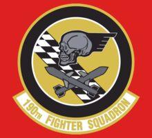 190th Fighter Squadron emblem Kids Tee