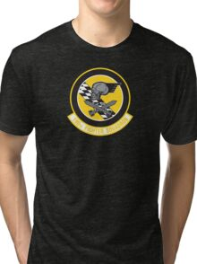 190th Fighter Squadron emblem Tri-blend T-Shirt