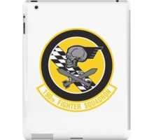 190th Fighter Squadron emblem iPad Case/Skin