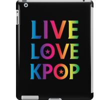 LIVE LOVE K-pop RAINBOW iPad Case/Skin