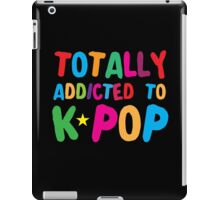 Totally addicted to K-pop in rainbow iPad Case/Skin