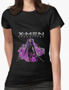"x men apocalypse - ""Psylocke"" Womens Fitted T-Shirt"