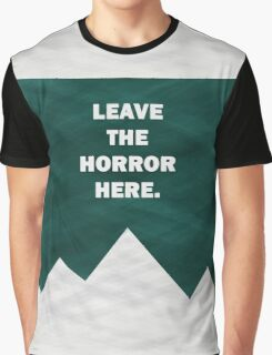 Leave The Horror Here - Foals Tshirt Graphic T-Shirt