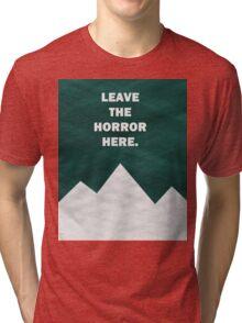 Leave The Horror Here - Foals Tshirt Tri-blend T-Shirt