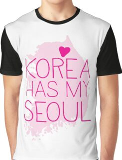 KOREA has my SEOUL Graphic T-Shirt