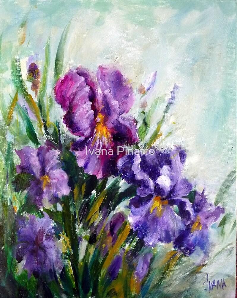 Irises by Ivana Pinaffo