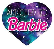 Addicted to BARBIE Photographic Print