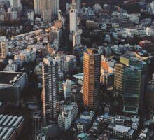 Tokyo Cityscape Sticker
