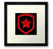 Gambit logo (no text) Framed Print