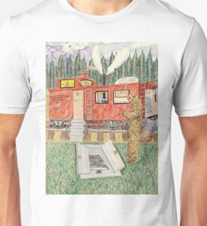 Aunt Maizie's Train Caboose Unisex T-Shirt