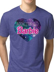 Addicted to BARBIE Tri-blend T-Shirt