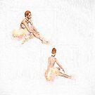 Pas de Deux by Catherine Hamilton-Veal  ©