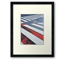 Japan - Zebra Crossing in Tokyo Framed Print