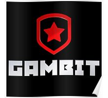 Gambit logo (with text) Poster