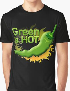 Green is HOT Graphic T-Shirt