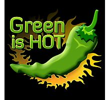 Green is HOT Photographic Print