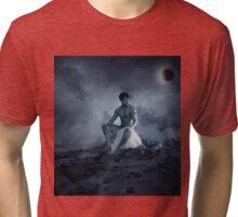 dramatic blue  Tri-blend T-Shirt