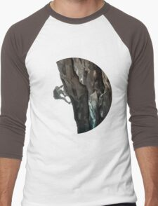 The Rock Climber Men's Baseball ¾ T-Shirt
