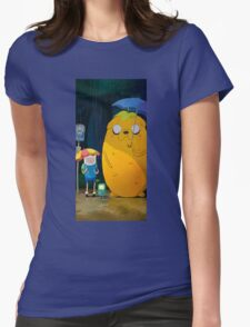 adventure time totoro Womens Fitted T-Shirt