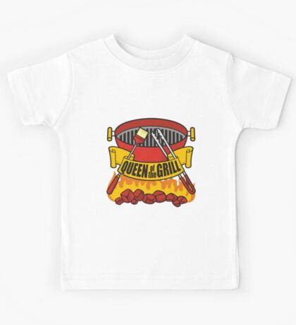 Queen of the Grill Kids Tee
