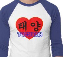 ♥♫I Love Taeyang-Fabulous K-Pop Clothes & Phone/iPad/Laptop/MackBook Cases/Skins & Bags & Home Decor & Stationary & Mugs♪♥ Men's Baseball ¾ T-Shirt
