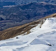 Treble Cone View by Charles Kosina