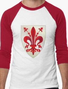 Coat of Arms of Florence Men's Baseball ¾ T-Shirt