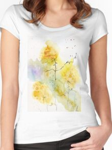 Flowers #38 – Daily painting #745 Women's Fitted Scoop T-Shirt