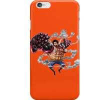 luffy gear iPhone Case/Skin