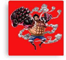 luffy gear Canvas Print