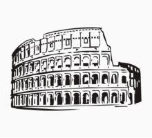 Rome - Colosseum One Piece - Short Sleeve