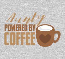 Aunty powered by COFFEE Kids Tee