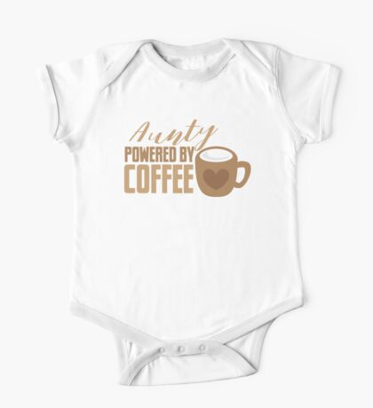 Aunty powered by COFFEE One Piece - Short Sleeve