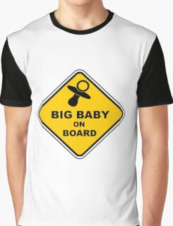 ABDL - Big Baby On Board Graphic T-Shirt