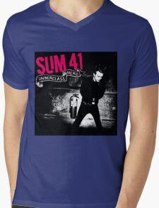 SUM 41 UNDERCLASS HERO Mens V-Neck T-Shirt
