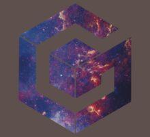 Galaxy Cube One Piece - Short Sleeve