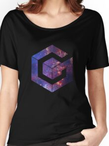Galaxy Cube Women's Relaxed Fit T-Shirt