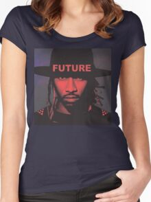 FUTURE [4K] Women's Fitted Scoop T-Shirt
