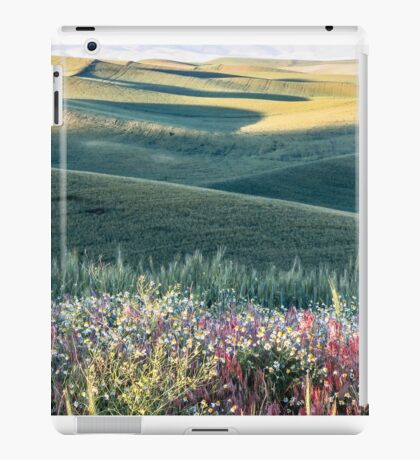 Verdant and blooming iPad Case/Skin