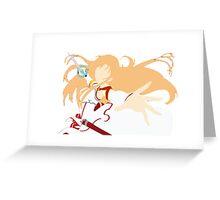 Asuna Greeting Card