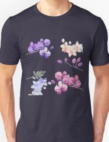 Paint Flowers Unisex T-Shirt