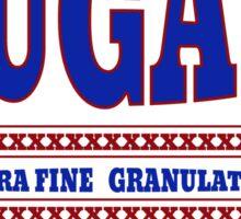 Vintage Sugar Sack Design  Sticker