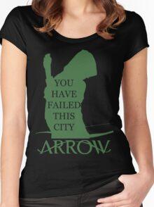 Arrow Hero 2 Women's Fitted Scoop T-Shirt